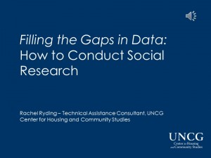 Conducting Social Research